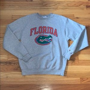 Gray Champion Florida Gators Sweatshirt